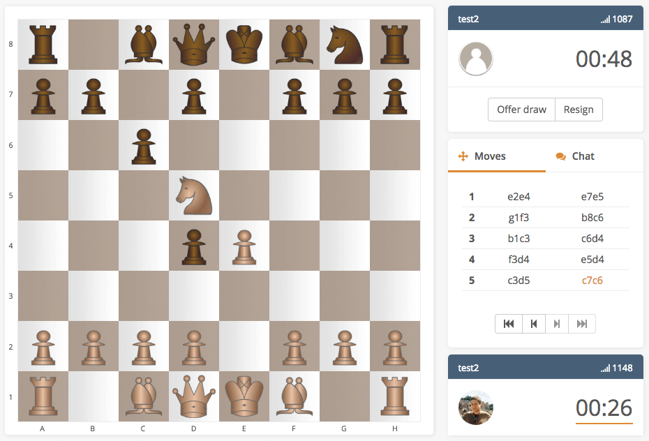 Chess Hotel Play Chess Online